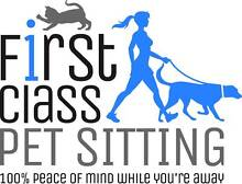 First Class Pet Sitting Brisbane City Brisbane North West Preview