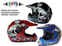 MOTOCROSS HELMET + FREE GOGGLE ...NEW Chandler Brisbane South East Preview