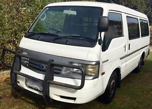 FORD ECONOVAN 2002, 1 TONNE, AUTOMATIC/REGISTRATION/LOW KMS/HISTORY