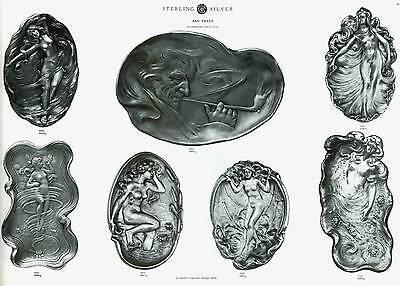 1904 Catalog of Unger Bros Sterling Silver Jewelry Flatware Novelties 212 - Novelties Catalog