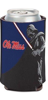 Ole Miss Rebels NCAA Can Holder Cooler Bottle Sleeve Star Wars Team Darth Vader - Ole Miss Bottle