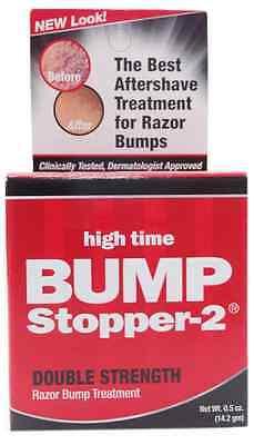 High Time Bump Stopper-2 Razor Bump Treatment, 0.5 oz