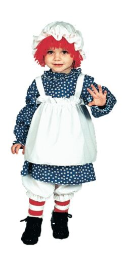 Raggedy Ann Costume For Kids Costumes Girls Toddler Size 1-2 12117 Fancy Dress