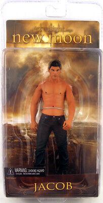 "Twilight New Moon series 1 Jacob shirtless figurine 7"" action figure NECA"