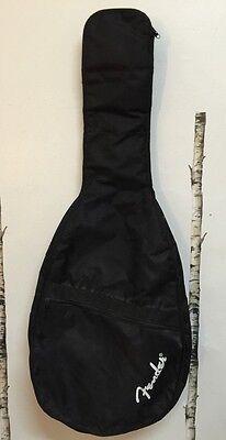 """42"""" Fender Guitar Soft Case Carry Gig Bag Adjustable Shoulder Strap Zip Pocket"""
