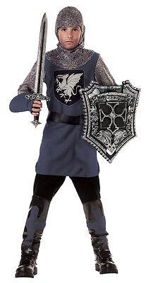 Valiant Knight Gladiator Renaissance Child Costume](Kids Gladiator Costume)