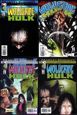 Wolverine / Hulk #1-4 complete set by Sam Keith 1st printing NM Marvel US X-23