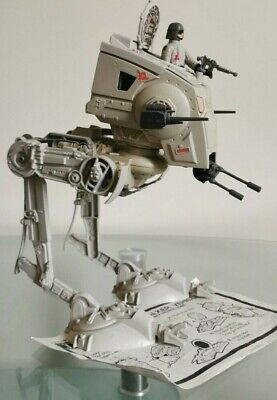 Vintage Star Wars AT-ST Scout Walker 1982 FREE AT-ST Driver The Mandalorian