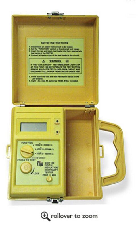 TPI SDIT30 Digital Megohmmeter Insulation Resistance Tester ( IRT )
