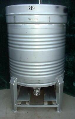 800 Liter Stainless Steel Tote Tank Beer Keg 211 Gallon 15 Psi Pressure Vessel