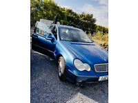Mercedes kompressor full years mot