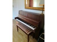 Petrof piano for sale. Excellent condition. Croydon.