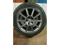 Subaru wrx sti wheels ×2