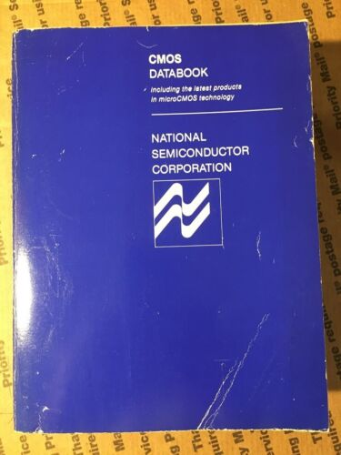 National Semiconductor Corp CMOS Databook 1984