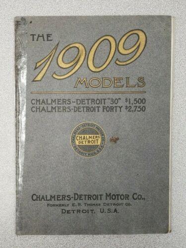1909 Chalmers-Detroit Sales Catalog