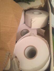 Full box of till rolls