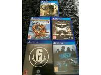 Swap for dif ps4 games or Xbox One games