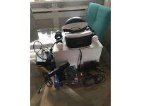 PlayStation VR bundle with games and motion controllers