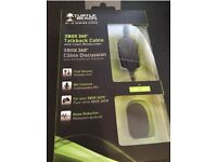 Xbox 360 Talkback cable with foam windscreen