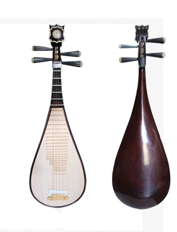 Luet Liuqin Chinese Soprano Pipa Lute Guitar Dun huang Musical Instrument #4087