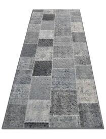Brand new grey runner rug
