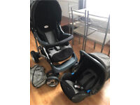 Britax Pram/Pushchair/Stroller and car seat