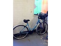 Ladies hybrid bike. As new condition.