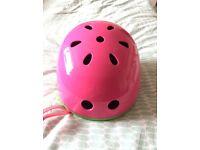 Micro pink helmet
