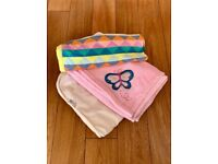 Baby Blankets and Hand Knitted Cardigan Bundle