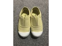 MARKS AND SPENCER-GIRLS SLIP ON SHOES - UK SIZE 8 - *Brand New*