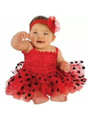 Baby Girl Halloween Costumes 6-12 Months (Infant Baby Girls Ladybug Halloween Costume Size 0-6 Months Tutu Dress Tulle)