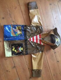 Boys waterproof pirate raincoat