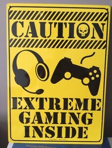 Gaming wall sign