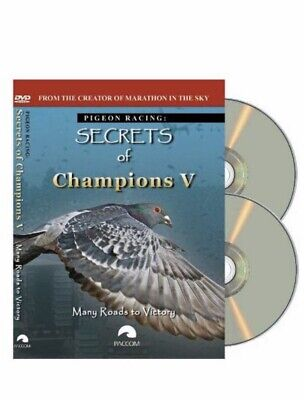 Secrets Of Champions V Dvd Many Roads To Victory Racing Pigeon Dvd 2 Disc