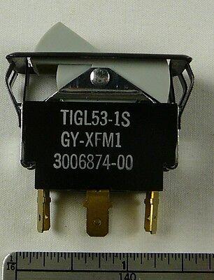Rocker Switch 2 Circuits2 Positions 10a 250vac - 15a 125vac - 34hp 250ac