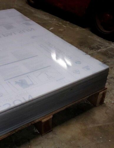 Lexan Makrolon Clear Polycarbonate Sheet 24 x 48 x 1/4