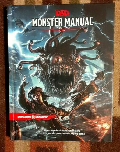 Dungeons & Dragons D&D 5th Edition Monster Manual Core Rulebook NEW!