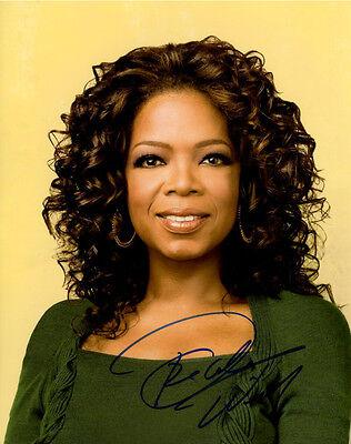 Oprah Winfrey Signed Autographed 11X14 Photo