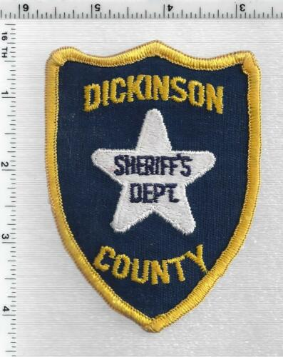 Dickinson County Sheriff (Kansas) 2nd Issue Shoulder Patch