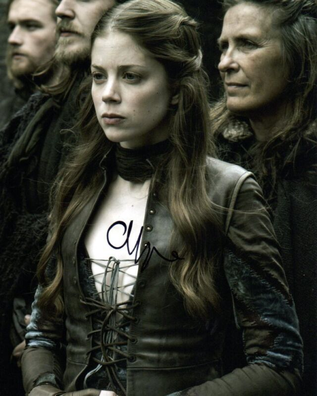 Charlotte Hope Game of Thrones Autographed Signed 8x10 Photo COA #2