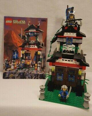 Vintage 1998 Lego #6083: Samurai Stronghold Set - 100% Complete w/Instructions