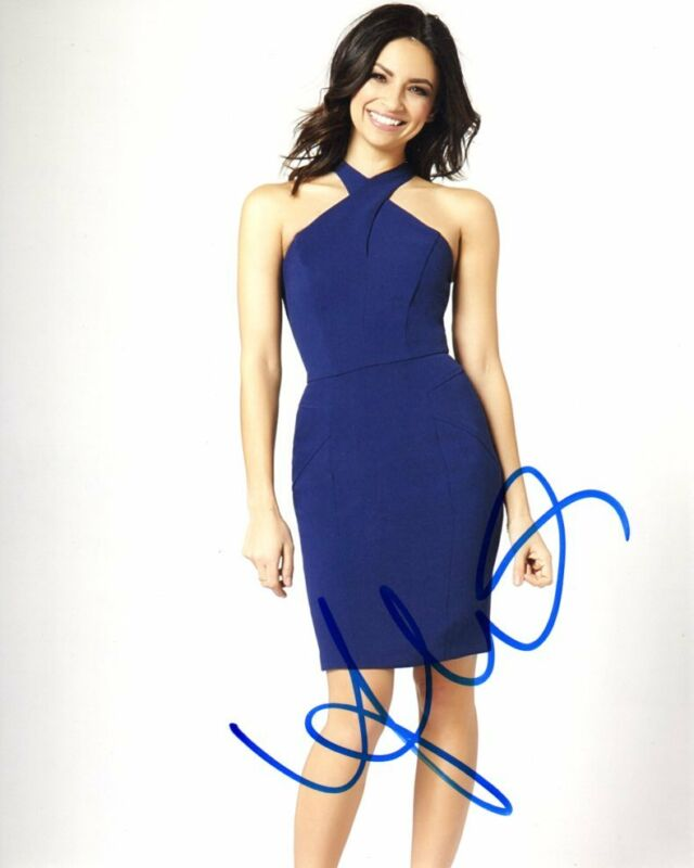 Floriana Lima Supergirl Autographed Signed 8x10 Photo COA #2