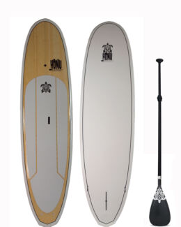 Stand up Paddle - SUP board 9'8 + Fins + Grip + Paddle : Bamboo Bondi Beach Eastern Suburbs Preview