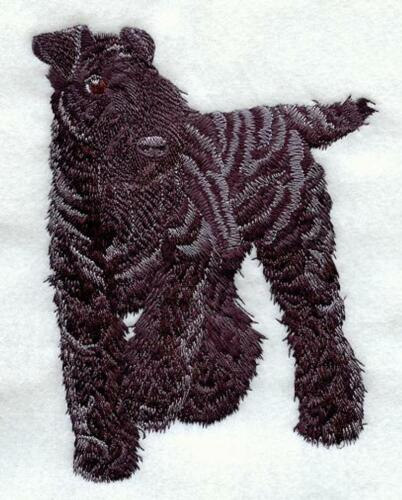 KERRY BLUE TERRIER  Personalized Embroidered Fleece Stadium Blanket Gift