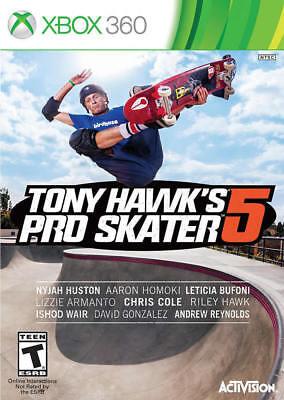 Tony Hawk Pro Skater 5 - Standard Edition Xbox 360 New Xbox 360, Xbox