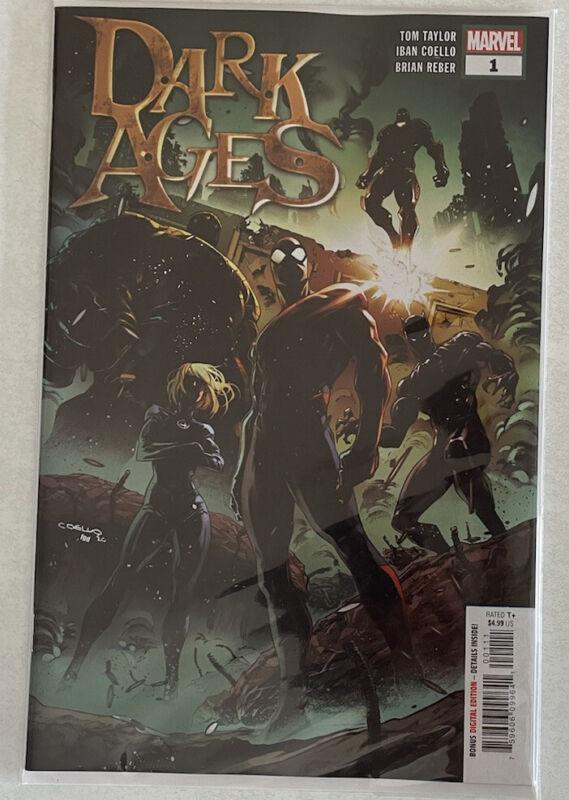 DARK AGES #1 Cover A Coello KEY 1st App Unmaker Marvel MCU 2021 SPEC