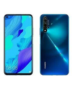 HUAWEI NOVA5T dual SIM 128GB SMARTPHONE  unlocked new blue crush ukversion 3pin