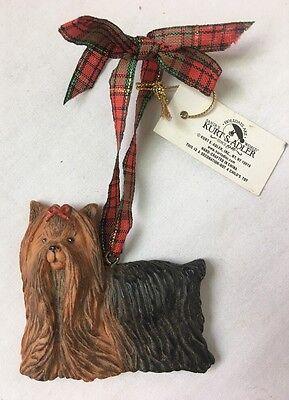 Kurt Adler Dandy Dogs Yorkshire Terrier Christmas Ornament Yorkie ()