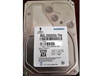 "Toshiba Marshal 8TB Internal HDD Archive NAS SATA 5400RPM Hard Disk Drive 3.5"""
