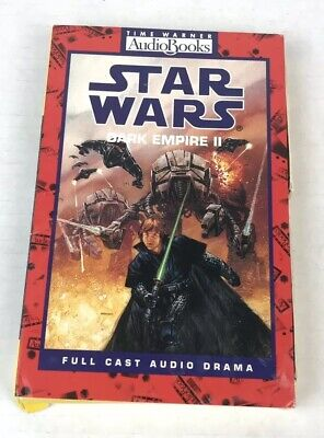 Star Wars Dark Empire II by Tom Veitch 1995 Cassette Abridged Audio Book Vtg 90s Dark Empire Audio